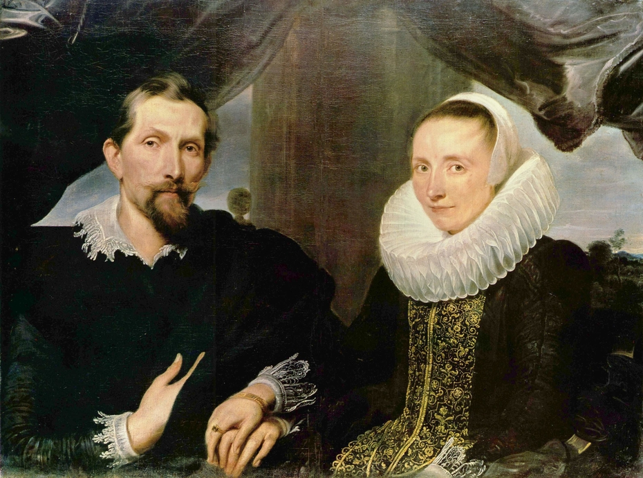 Portrait of Frans Snyders and his Wife