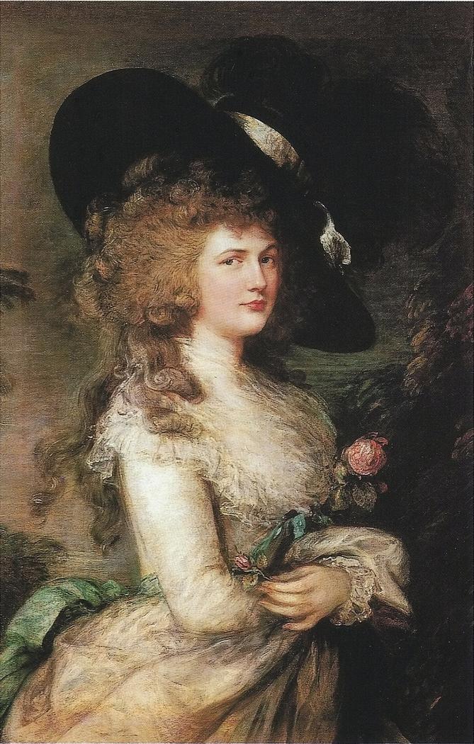 Portrait of Georgiana, Duchess of Devonshire