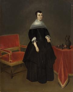 Portrait of Hermana von der Cruysse (1615-1705)