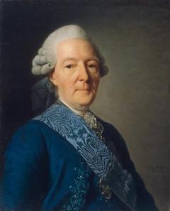Portrait of Ivan Ivanovich Betskoi