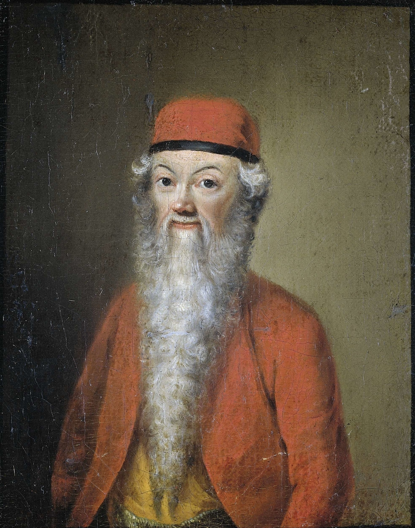 Portrait of Jean-Étienne Liotard at approximately 54 years of age (Self Portrait in Turkish Costume)
