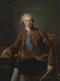 Portrait of Joseph Hyacinthe François de Paule de Rigaud, Comte de Vaudreuil