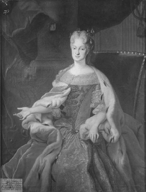 Portrait of Maria Josepha of Austria