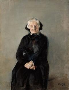 Portrait of Marie Krohg, the Artist's Aunt
