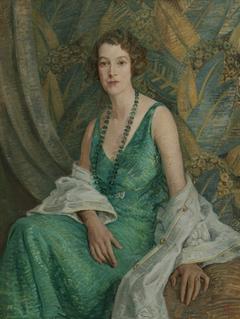 Portrait of Mrs N.S. Falla