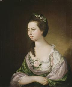 Portrait of Mrs. Samuel Powel (née Elizabeth Willing)