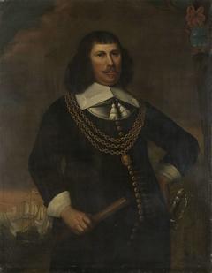 Portrait of Pieter Florisz, Vice-Admiral of the Noorderkwartier