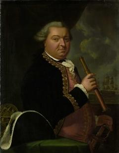 Portrait of Rear-Admiral Willem Crul