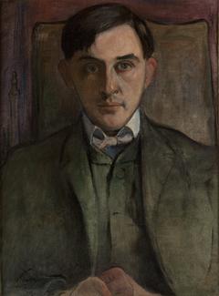 Portrait of Stanisław Ignacy Witkiewicz