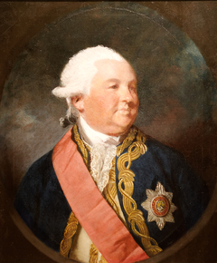 Portrait of the British Admiral Sir Edward Hughes (1717/1720–1794)