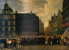 "Portrait of the Members of the Guild ''Oude Voetboog'' (""Old Arbalest"") in Antwerp"