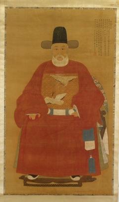 Portrait of Zhou Gongsu (Zhou Yong, 1476-1547)