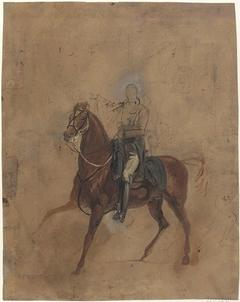 Portrait Study of Copenhagen, the Duke of Wellington's Horse