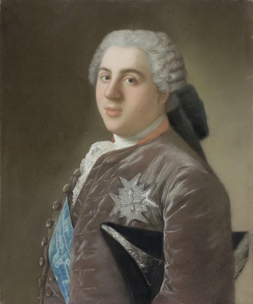 Portret van Louis de Bourbon (1729-65), dauphin van Frankrijk