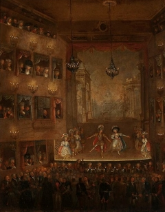 Premiere of the ballet Pirro by Giovanni Paisiello in the Public Theatre in Warsaw in the presence of king Stanislaus Augustus