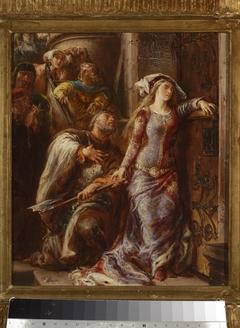 Queen Jadwiga and Dymitr of Goraj