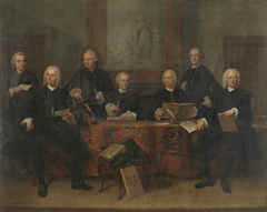 Regents of the Oudezijds Almshouse, 1759