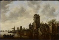 River Landscape with the Pellecussen Gate near Utrecht
