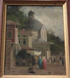 Rue de la Colonne brûlée à Constantinople