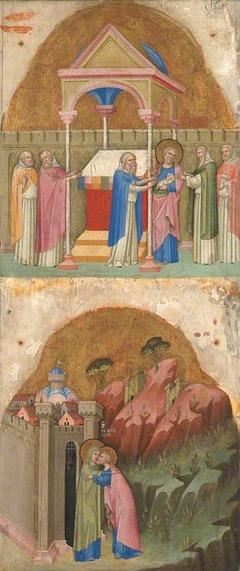 Saint Joachim's Offering; Meeting at the Golden Gate