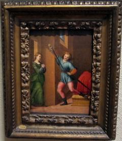 Saint Julian the Hospitaler Meeting His Wife after Killing His Parents