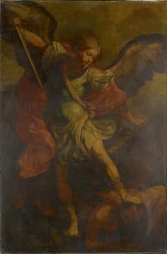 Saint Michael the Archangel Slaying the Dragon