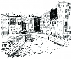 Saint-Petersburg, Mojka river