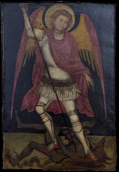 San Michele Arcangelo combatte contro Satana