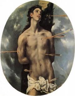 San Sebastián (El Greco, antiguamente en Bucarest)
