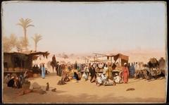 Scene in Cairo