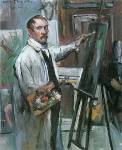 Selbstporträt im Atelier
