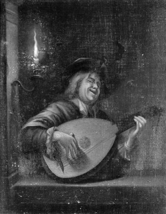 Singer with a Guitar