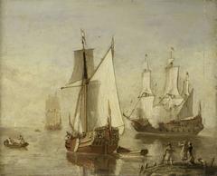 Speeljacht (Pleasure Yacht) and Warship