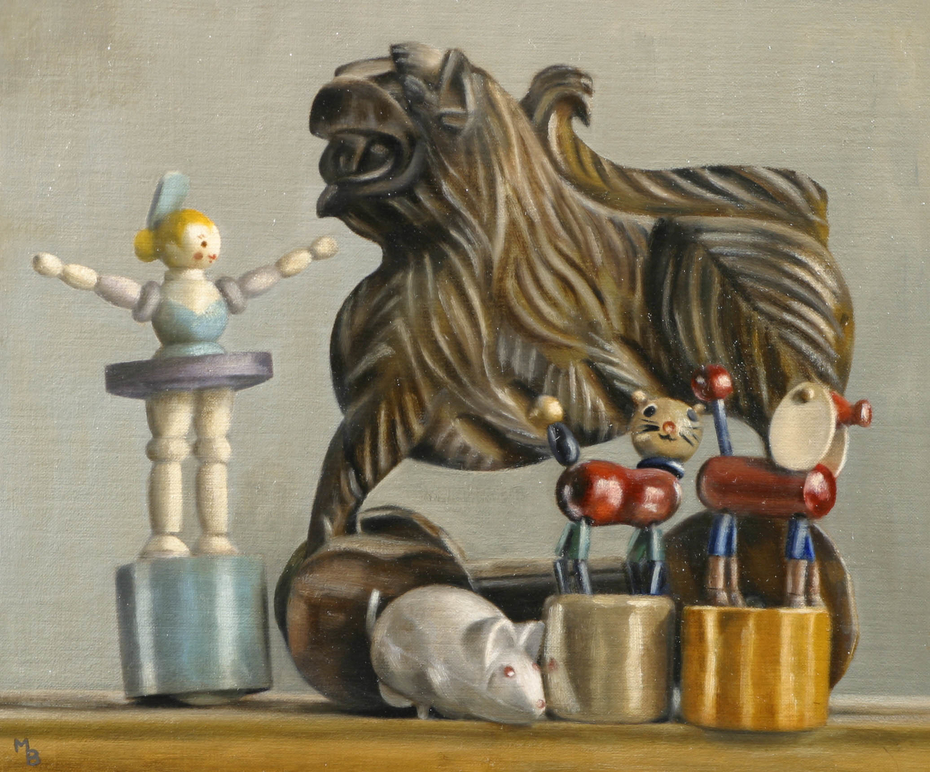 Still Life With Toys
