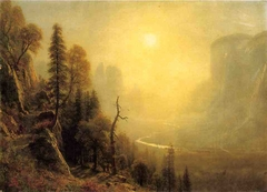 Study for Yosemite Valley