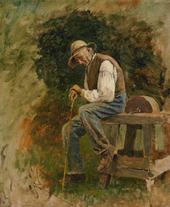 Study of a Man with Grindstone