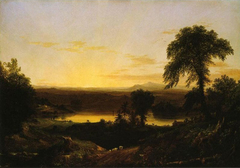 Summer Twilight, A Recollection of a Scene in New-England