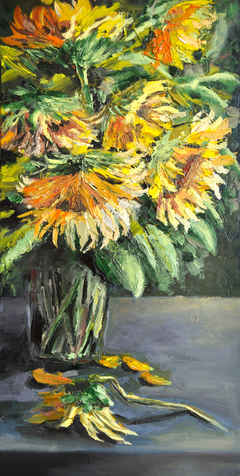 Sunflowers, oil