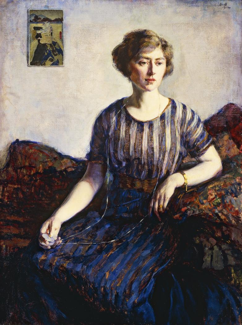 Tess Kroll Pergament, the Artist's Sister