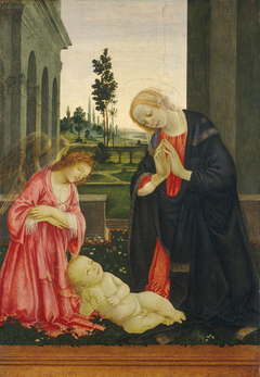 The Adoration of the Child