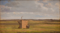 The Artist's Shelter on the Moors in Jutland