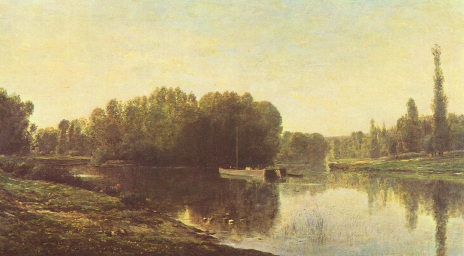The Bank of the Oise River
