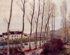 The Canal du Loing in Winter