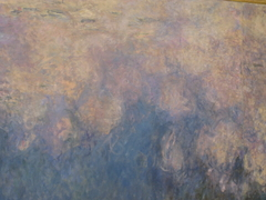 Water Lilies: The clouds