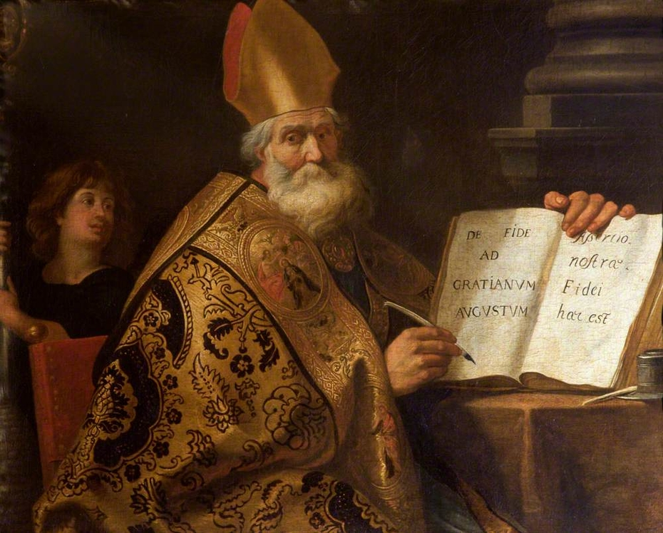 The Four Doctors of the Western Church: Saint Ambrose