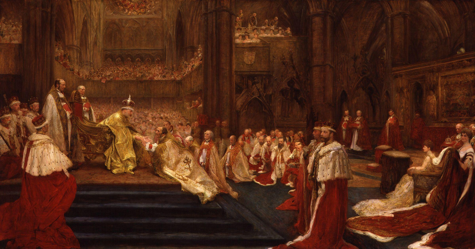 The Homage-Giving: Westminster Abbey, 9th August, 1902