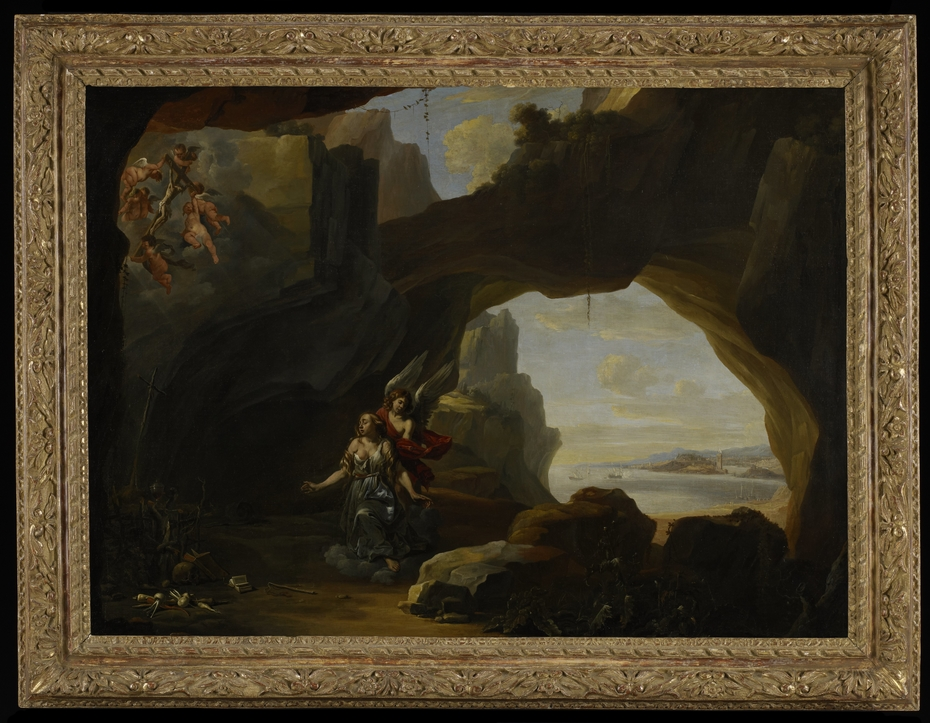 The Magdalen in a Cave