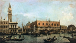 The Molo, Seen from the Bacino di San Marco