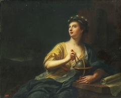 The Muse Urania (the nine muses, 1782)