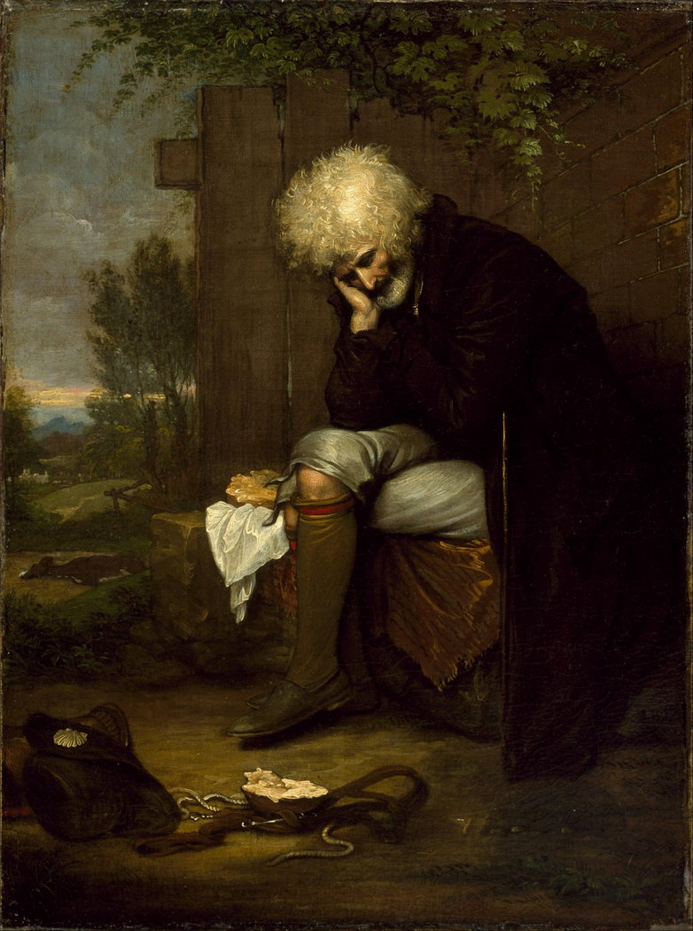 The Pilgrim Mourning His Dead Ass